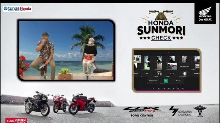 Honda Sunmori Check, Kumpulnya Para Pecinta sepeda motor Honda di Lampung