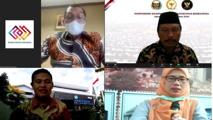 Rumah Kreasi Indonesia Gelar Webinar Manfaaf Bantuan Sosial Tunai Bagi Warga Terdampak Covid 19