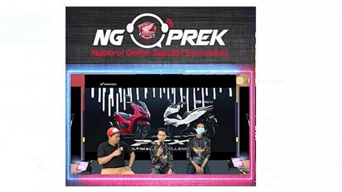 Ngoprek Bareng HPCI Chapter Lampung Mengupas Tuntas All New Honda PCX160
