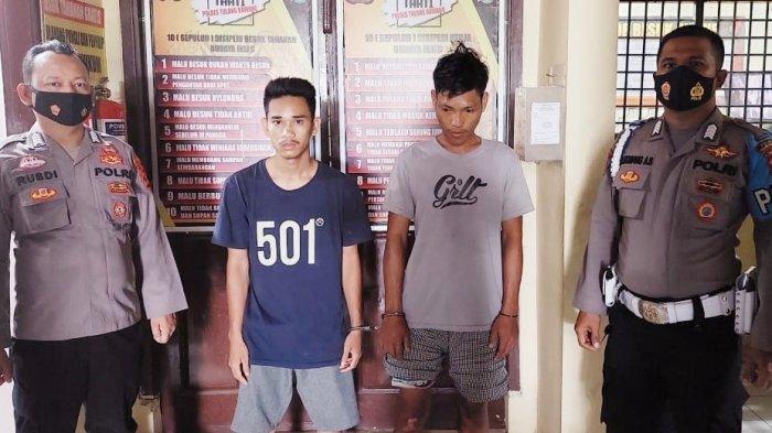 Polisi Tangkap 2 Perampas Ponsel Milik Pelajar di Tulangbawang Lampung
