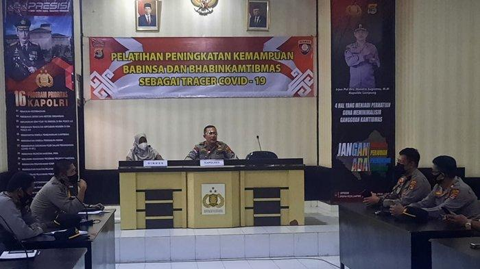 Tekan Penyebaran Covid-19, Kapolres Lampung Utara Instruksikan Bhabinkamtibmas Terapkan 3T