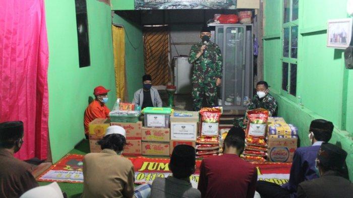 Bakti Sosial TNI, Romas Herlandes Beri Bantuan Pondok Roudhatul Fallah