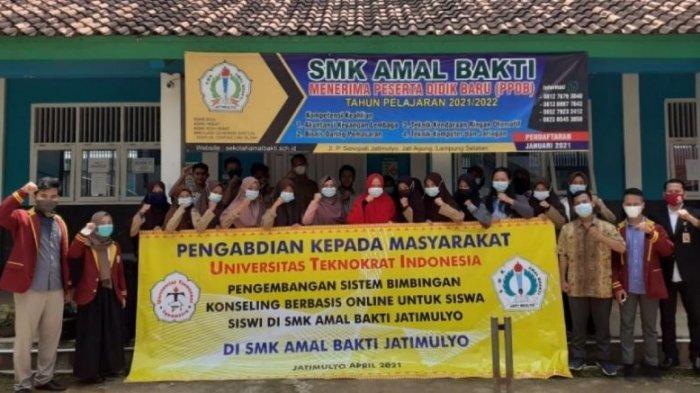 PTS Terbaik di Lampung, UniversitasTeknokrat Gelar Pelatihan di SMK Amal Bakti Jati Mulyo