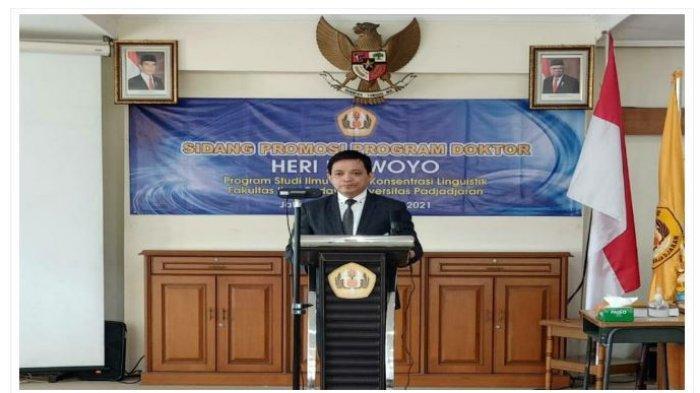 Alumni PTS Terbaik di Lampung Universitas Teknokrat Heri Kuswoyo Lulus Program Doktor