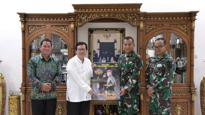 Rektor Universitas Teknokrat Indonesia Dr. HM. Nasrullah Yusuf, SE.,MBA, berharap Brigif 4 Mar/BS dan Universitas Teknokrat Indonesia ke depan akan memiliki personel yang dapat di handalkan.