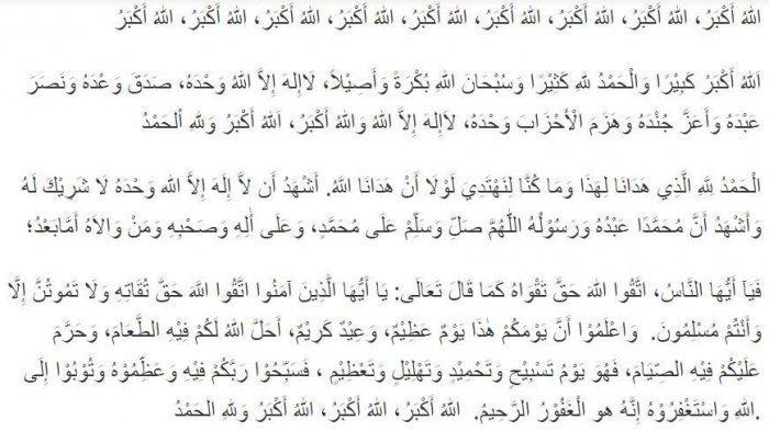 Contoh Teks Khutbah Idul Fitri: Mengetuk Pintu Surga