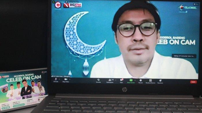Semarakkan Ramadan, Telkomsel Gelar Celeb on Cam Ngobrol Seru Bareng Baim Wong