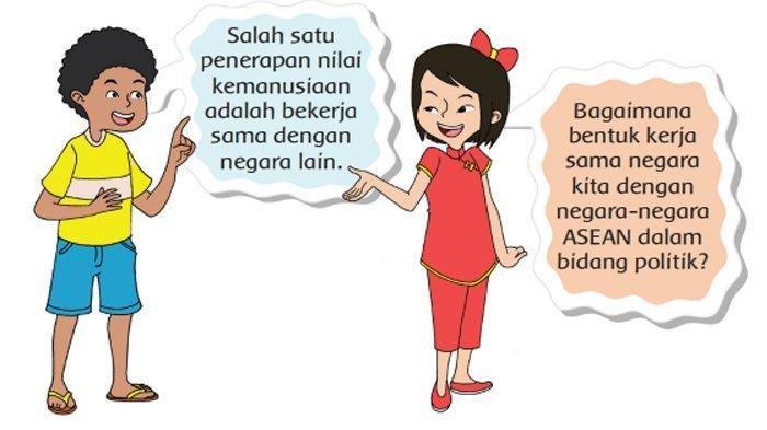 Kunci Jawaban Tema 7 Kelas 6 Halaman 35 ASEAN
