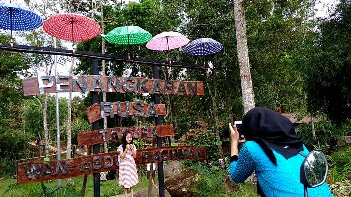 Lebaran 2019, Penangkaran Rusa di Sumber Agung Kemiling Bisa Jadi Pilihan Berwisata Keluarga