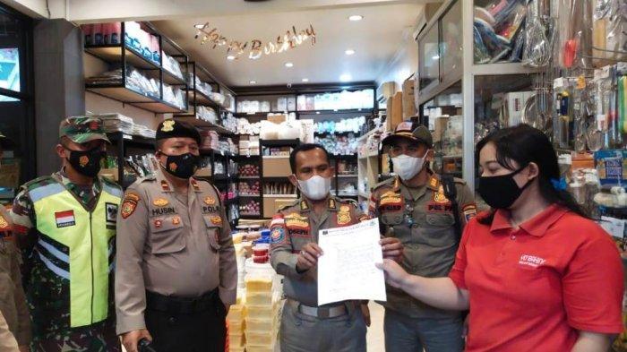 Pemkot Metro Lampung Berikan Sanksi Tiga Tempat Usaha yang Melanggar Jam Operasional PPKM Mikro