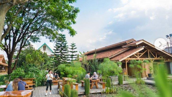 Tempat Wisata di Bandung, 150 Coffee Garden Cafe dengan Konsep Ruistic Outdoor