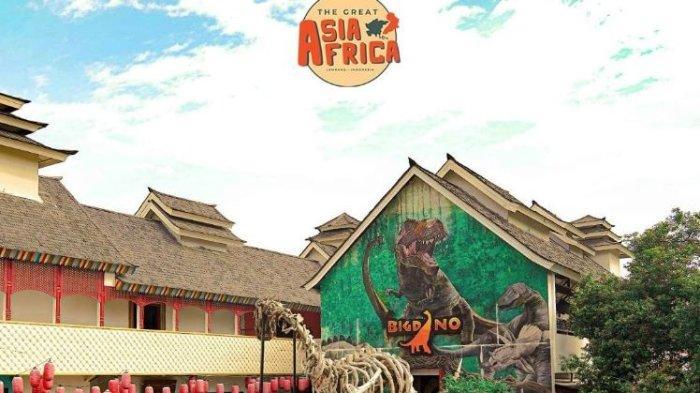 Tempat Wisata di Bandung, Nikmati Pengalaman Bertemu Hewan Purba Dinosaurus di The Great Asia Afrika