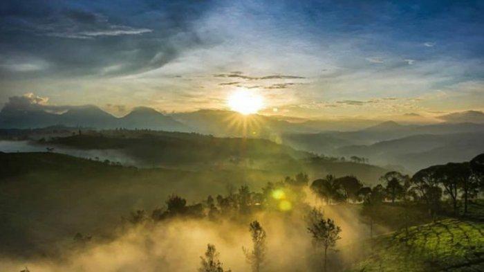 Tempat Wisata di Bandung, Sunrise Point Cukul Tempat Tuk Menikmati Mentari Menyapa Pagi Hari