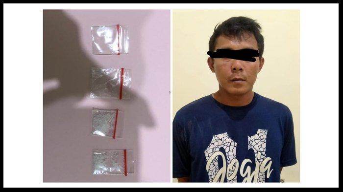 Temukan Sabu Dalam HP Mati, Polisi Tangkap Pemuda Lagi Asik Minum Tuak di Metro
