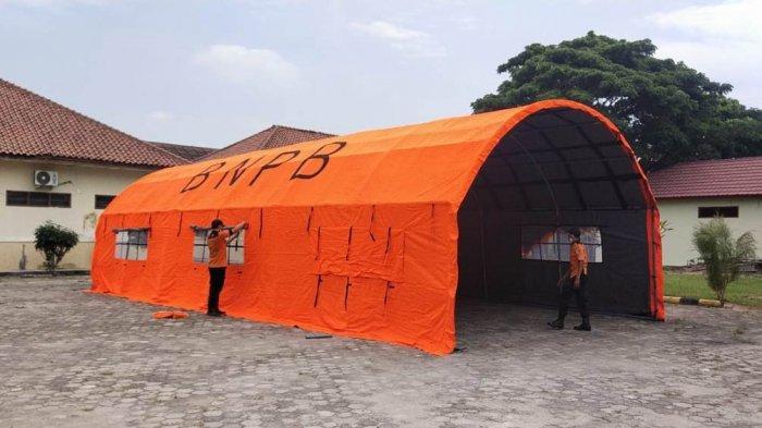 Pemkab Tuba Lampung Dirikan Tenda Darurat di RSUD Menggala, Antisipasi Peningkatan Pasien Covid-19