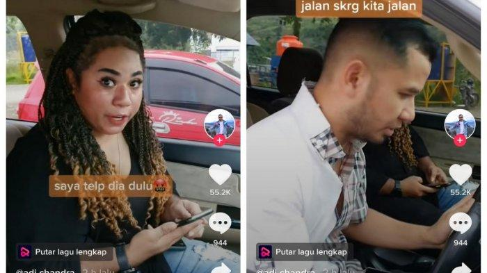 Viral, Mengaku Bekerja Suami Dipergoki Istri Sedang Bersama Wanita Lain