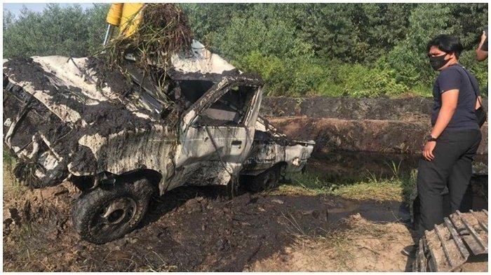 Jasad Ryan Ditemukan di Tengah Perkebunan, Terkubur Bersama Mobil di Dasar Kanal