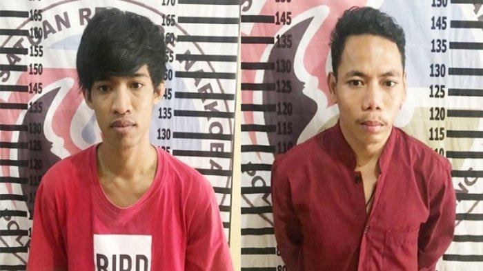 Tenteng Sabu ke Kampung Bugis, 2 Pemuda Ditangkap Polres Tulangbawang