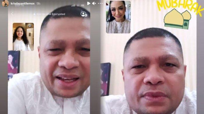 Terpisah Karena Pandemi Covid-19, Krisdayanti Jalani Lebaran Tanpa Raul Lemos