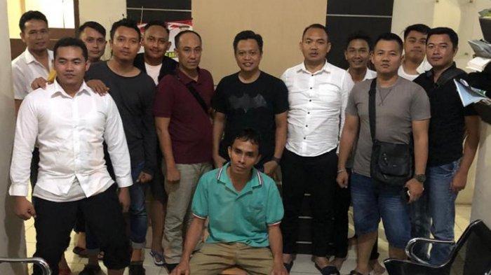 Buronan Kasus Curat Diringkus di Penumangan Tulangbawang Barat