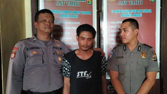 Tersangka Pembunuhan di Gunung Tapa Diringkus Petugas Polres Tulangbawang