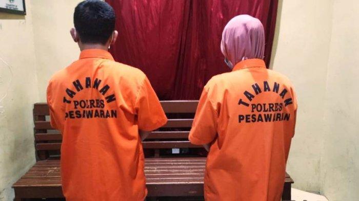 Tersangka Korupsi Dana Desa di Pesawaran Lampung Diduga Sunat Pembayaran Tukang