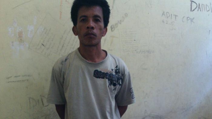 Curi Tabung Gas, Ahmad Sarwana Ditangkap Polisi