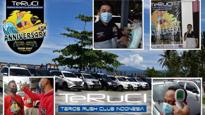 Terios Rush Club Indonesia (TeRuCI) Chapter Lampung Gelar Acara di Pesisir Barat