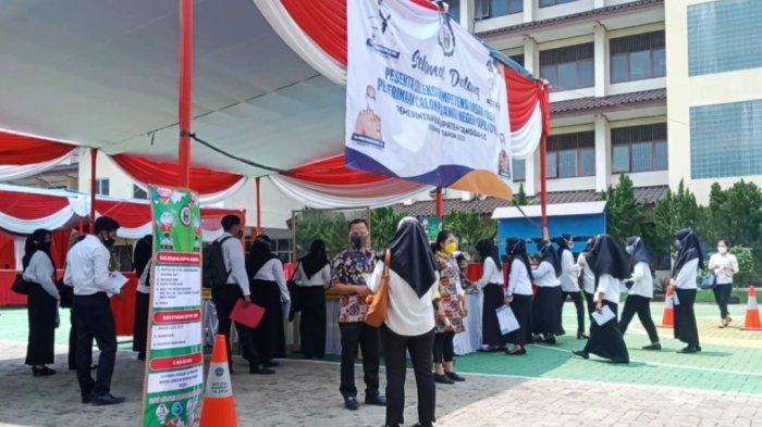 405 Peserta Tes SKD CPNS Tanggamus Lampung Gugur, Tak Hadir Mengikuti Tes