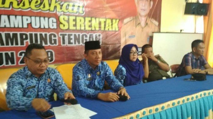 120 Bakal Calon Kepala Kampung di Lampung Tengah Ikut Tes Tertulis