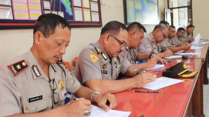 Seratusan Personel Polres Lampung Barat Jalani Tes Psikologi
