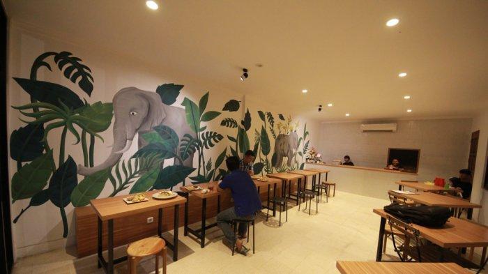 KULINER LAMPUNG - Menikmati Sensasi Unik Nasi Goreng Rasa Kopi Lampung di The Elephant Kitchen Cafe
