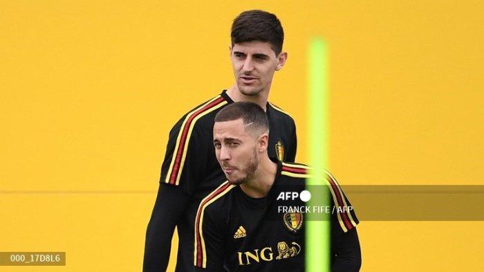 Link Live Streaming Euro 2021, Roberto Martinez Tetap Beri Satu Tempat Untuk Eden Hazard
