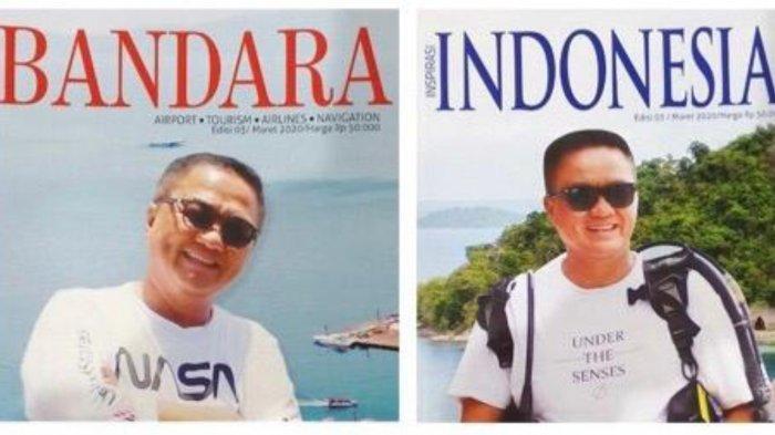 Bos Tegal Mas Lampung Thomas Azis Riska Jadi Cover Majalah Bandara