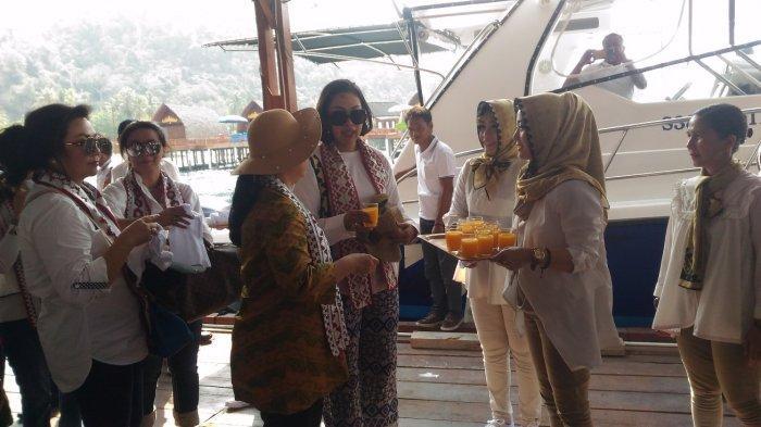 Tiba di Pulau Tegal Mas, Puan Maharani Dapat Jamuan Ala Pulau Tegal Mas