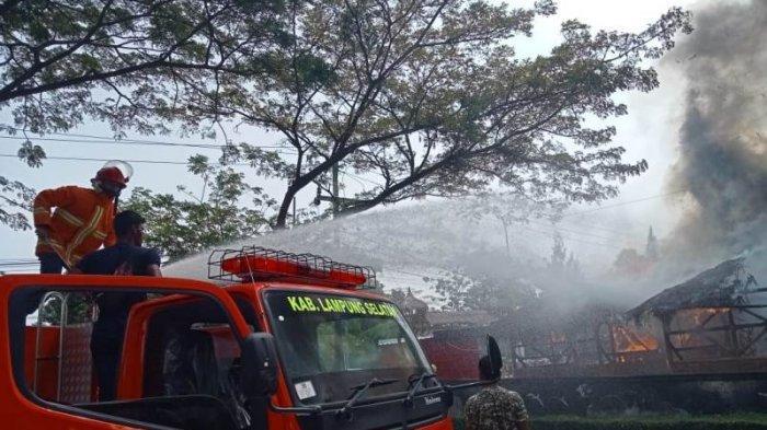 Tidak Ada Korban Jiwa dalam Kebakaran di Mini Cafe Epipani di Lampung Selatan