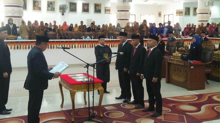 Tiga Anggota DPRD Bandar Lampung Ucapkan Sumpah Susulan