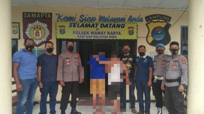 Tiga Kali Curi Motor di Waway Karya Lampung Timur, Dua Warga Candipuro Diamankan Polisi
