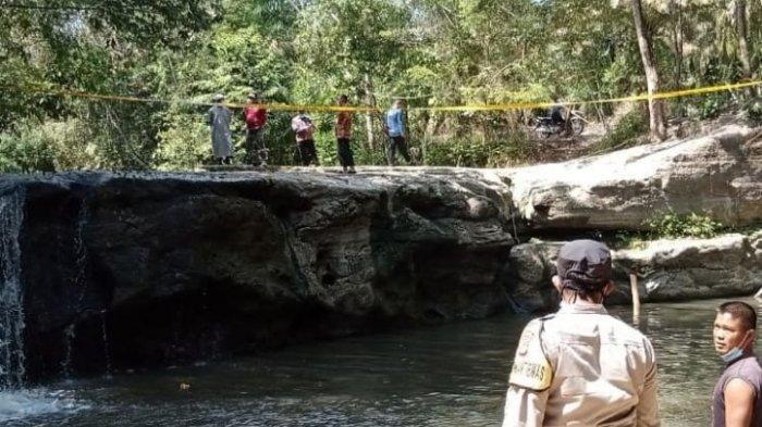 Tiga Orang Santriwati Pondok Pesantren Tewas Tenggelam di Curup Way Kawat Lampung