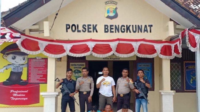 Maling Sapi 12 Kali Beraksi Ditangkap Polsek Bengkunat, Modus Pelaku Sapi Disumpal Garam Agar Jinak