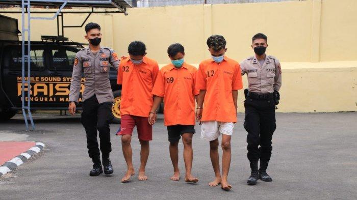 Tiga Pemuda di Pringsewu Lampung Diringkus Polisi Akibat Narkoba, Terancam Penjara 20 Tahun