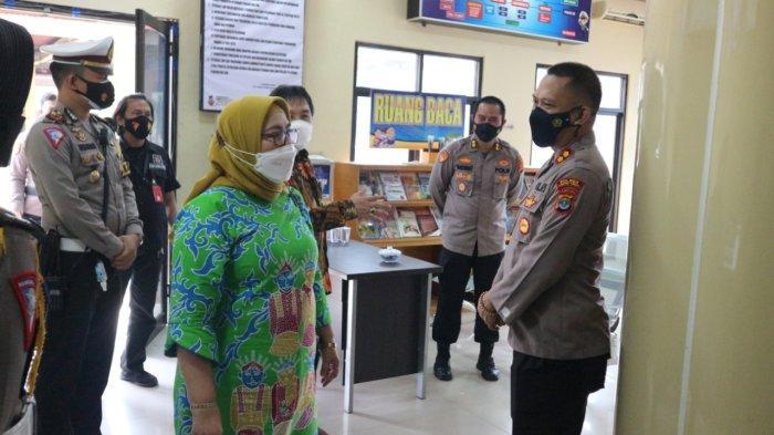 Tim Kemenpan RB Tinjau Pelayanan Publik Polres Lampung Tengah