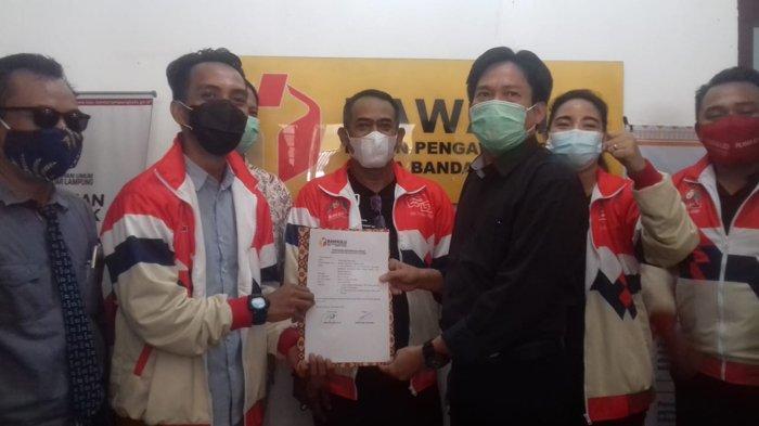 Tak Penuhi Syarat, Bawaslu Bandar Lampung Tolak Laporan Tim Eva-Deddy Terkait Perusakan APK