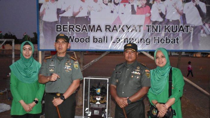Tim Kodim 0426 Juara Umum Kejuaraan Woodball Danrem Cup