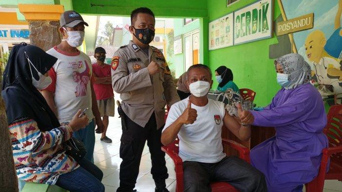 Tim Mobile Vaksinasi Tulangbawang Barat Sambangi Tumijajar Lampung