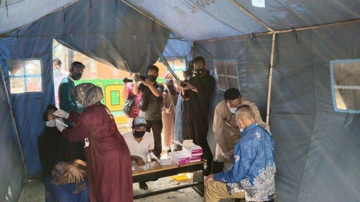BREAKING NEWS Tim Penyekatan Temukan 5 Penumpang Travel Positif Covid di Sukarame Lampung