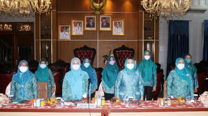 Ketua TP PKK Lampung Utara Nur Endah Sulastri Ajak Orang Tua Kenali Gejala Obesitas pada Anak