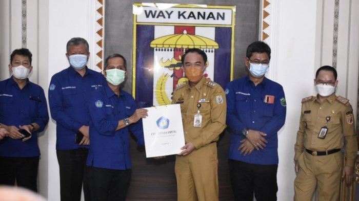 Tim Universitas Lampung Tinjau Rencana Lokasi Kampus Unila 2 di Way Kanan