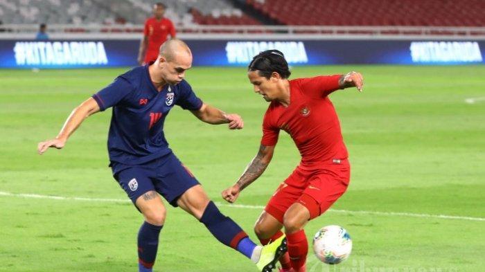 Timnas Indonesia vs Thailand, Kalah 0-3, Garuda Asia Semakin Terbenam di Dasar Klasemen Grup G