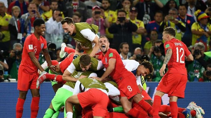 Inggris vs Kroasia - Harry Kane dkk Dianggap Hanya Beruntung Lolos ke Semifinal Piala Dunia 2018